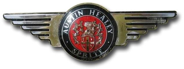 Austin-Healey Sprite Mk III (1964-1966), Mk IV (1966-1971 hood emblem)