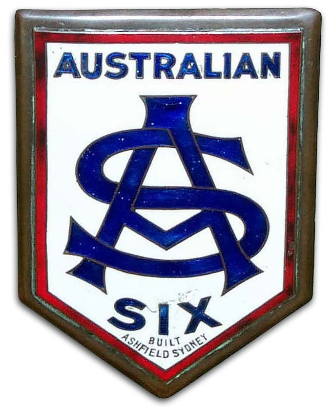 Australian Six (Ashfield, New South Wales)(1923)