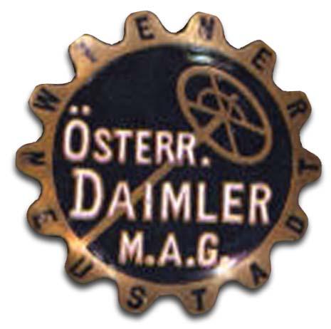 Austro-Daimler (Osterreichische Daimler-Motoren A.G.) (1909 grill emblem)
