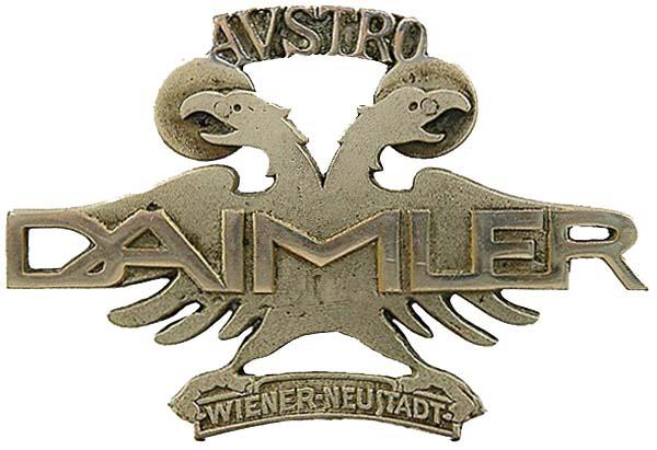 Austro-Daimler (Osterreichische Daimler-Motoren A.G.) (1910 grill emblem)