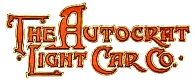 Autocrat Light Car Company (Birmingham)(1915)
