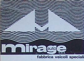 Automirage Fabbrica Veicoli Sprciali(1972)