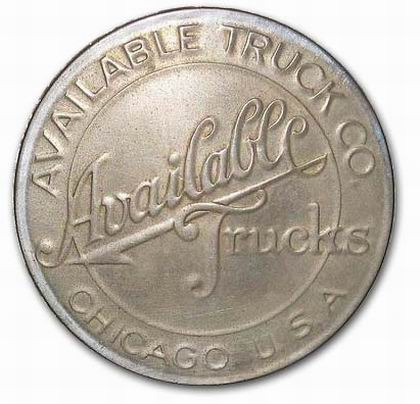 Available Truck Company (Chicago, Illinois, grill emblem)(1930)