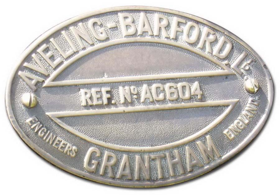 Aveling-Barford Ltd. (Grantham, Lincolnshire) (1933)