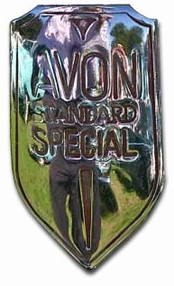 Standard Avon 16 Special - badge