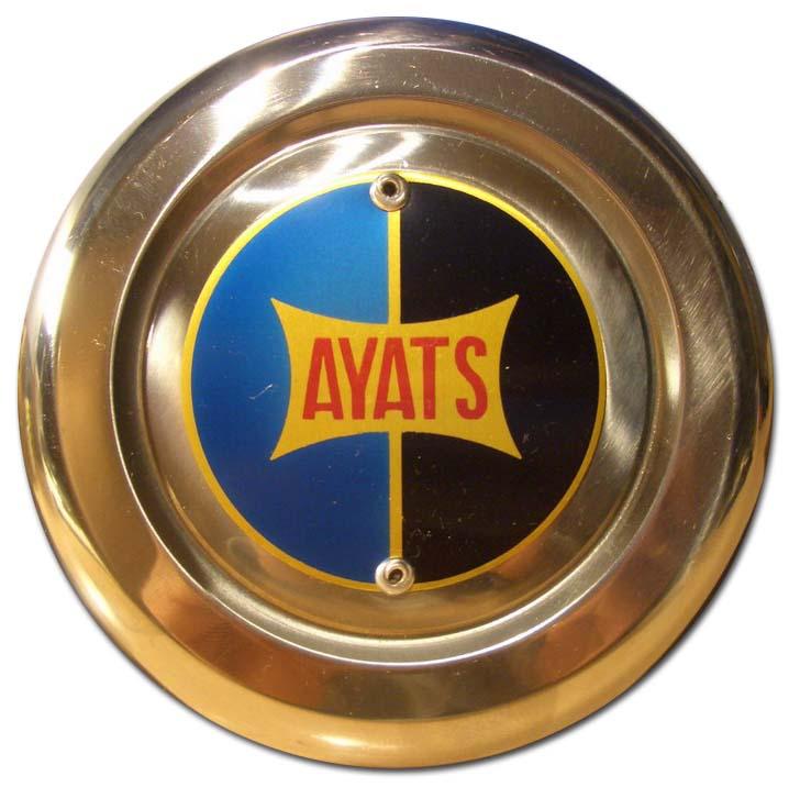 Ayats (Carrocerias Ayats S.A.) (1968 bus grill emblem)