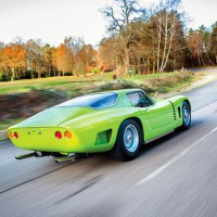 1963-1965. Iso Grifo A3C design by Bertone