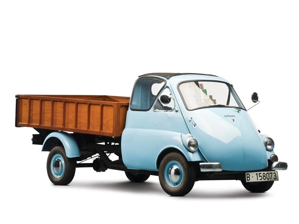 1954-1958. Iso Isettacarro Pickup