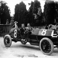 Giovanni_Marsaglia_in_his_Aquila_Italiana_at_the_1913_Targa_Florio