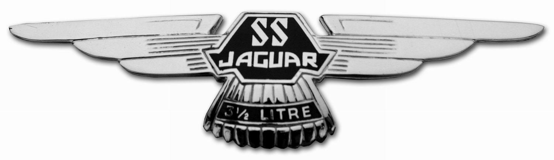 1938. Jaguar SS 100 3 1_2 Litre Roadster (1938-1939 grille emblem)