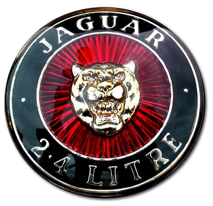 1956. Jaguar Mark I 2.4 Litre (1955-1959 grille emblem)
