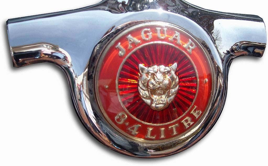 1957. Jaguar Mark I 3.4 Litre (1957-1959 hood emblem)