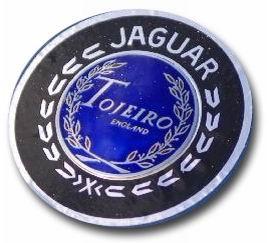 1957. Jaguar Tojeiro D-Type (front hood emblem)