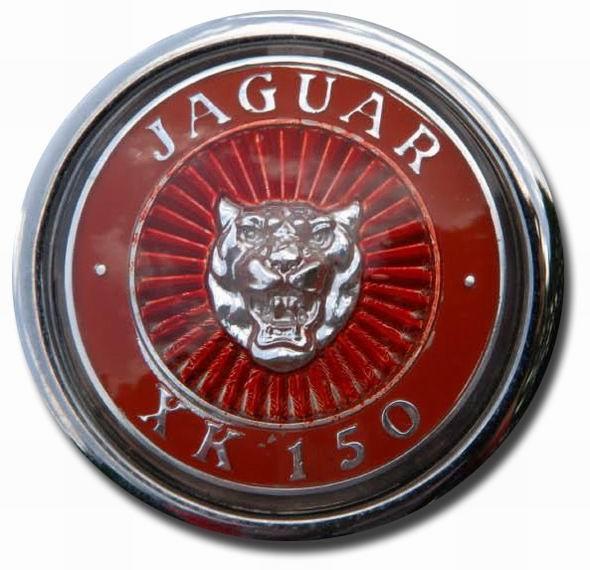 1957. Jaguar XK 150S (1957-1961 hood emblem)