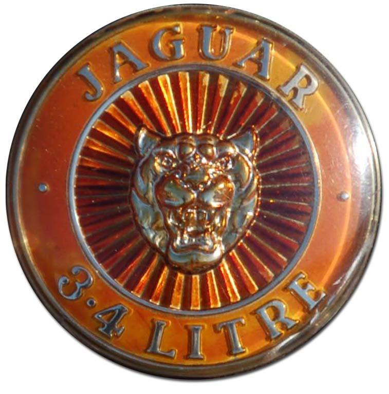 1958. Jaguar Mark I 3.4 Litre (1957-1959 grille emblem)