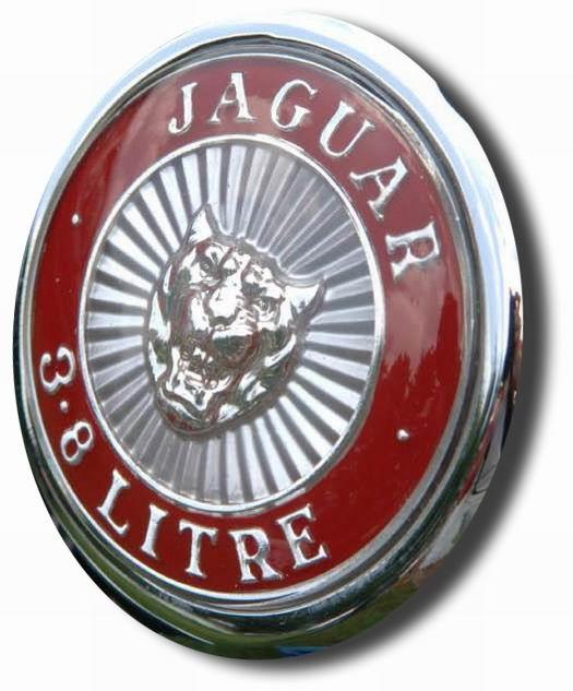 1964. Jaguar Mark II 3.8 Litre (1964 MK 2 grille emblem)