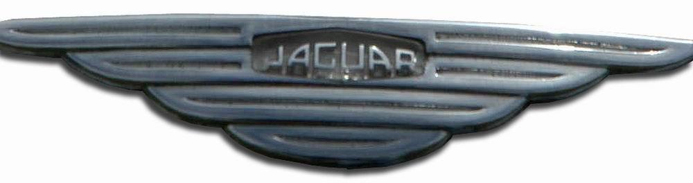 1965. Jaguar Mark X (1965 MK 10 grille emblem)