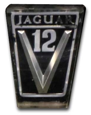 1988. Jaguar XJ-S V12 Series II (1988-1990 grille emblem)