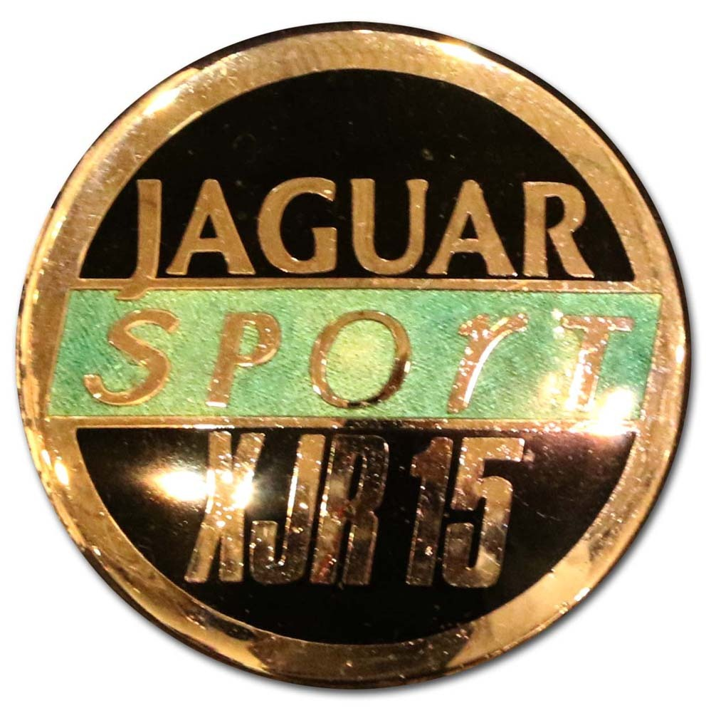 1990. Jaguar XJR-15 Sport (1990-1992 hood emblem)