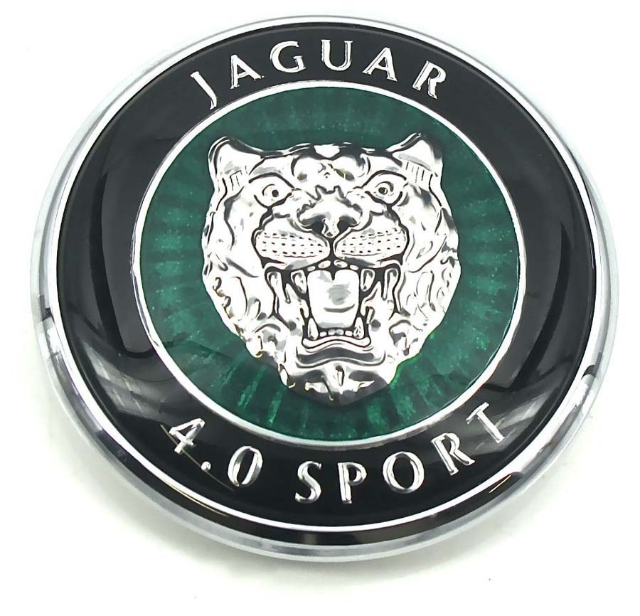 1999. Jaguar S-Type Sport Saloon V8 4.0 Litre (1999-2002 hood emblem)