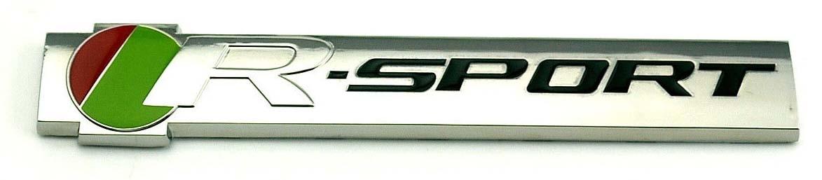 2015. Jaguar R-Sport XKR, XJR, XFR, XJ, XK, XF, S-Type, X-Type (2015 front fender badge)
