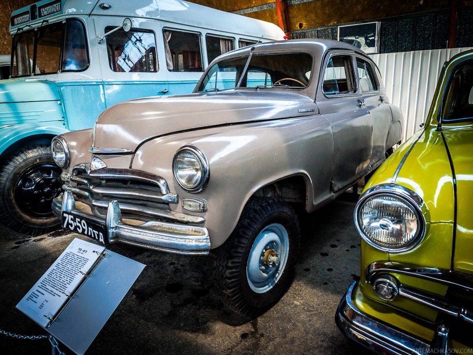 ГАЗ М72 — полноприводный гибрид Победы и ГАЗ-69