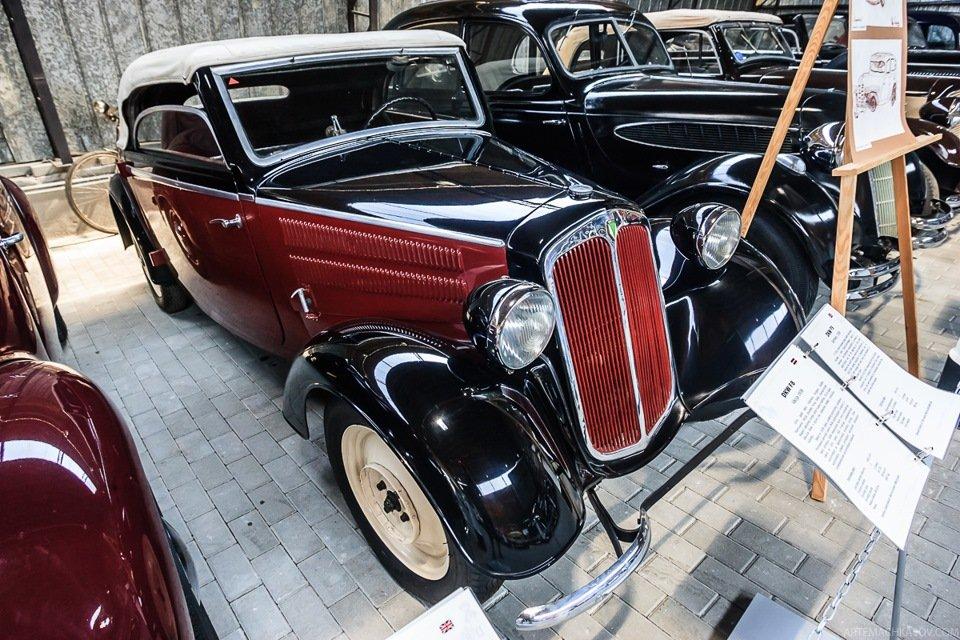 Еще один немец — DKW F8 1938 года.