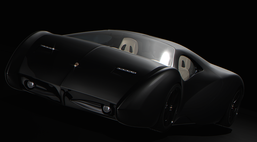 2015. Lyons Motor Car LM2 Streamliner