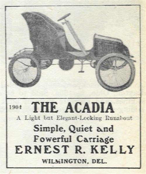 1904 Acadia - Wilmington, Delaware Automobile