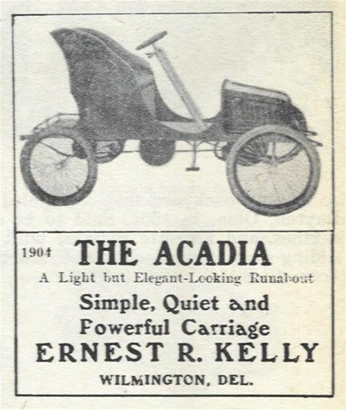 1904 Acadia - Wilmington, Delaware Automobile