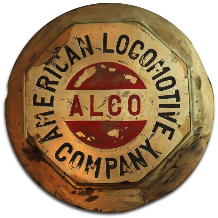 1911. American Locomotive Company (1911 truck wheel hubcap)