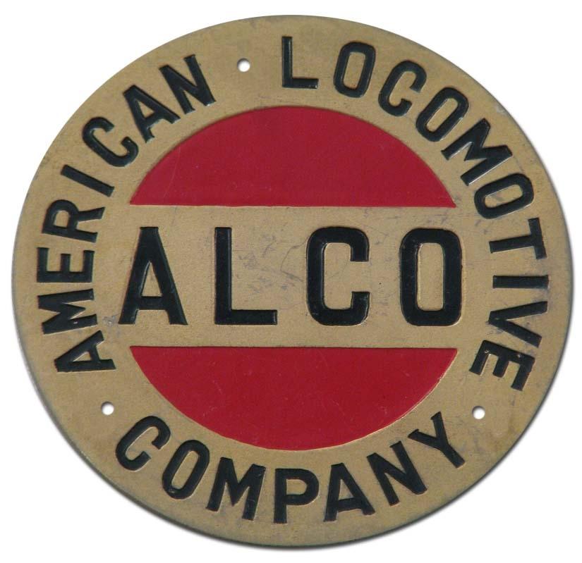 1913. American Locomotive Company (1913 truck grill emblem)