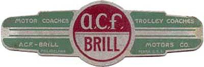 ACF-Brill Motors Company (1955)