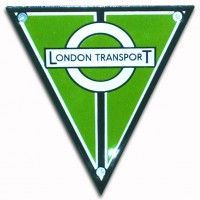 AEC London Transport (1936 grill emblem for a country area or Green Line bus)(1936)