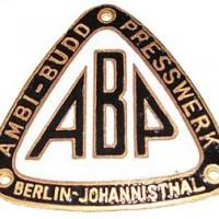 Ambi-Budd Presswerk (Berlin)(1933)