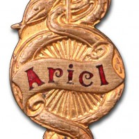 Ariel Cycles and Motors (1911 badge)