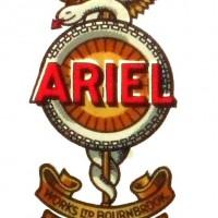 Ariel Petrol Motor Tricycle (1906 fuel tank emblem)(1906)