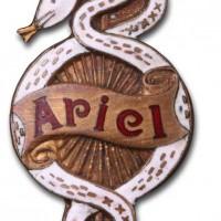 Ariel Works (1910 badge)