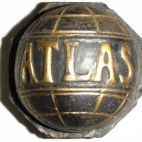 Atlas (1911 wheel hubcap)