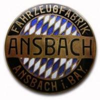 Fahrzeugfabrik Ansbach A.G. (1906-1920)