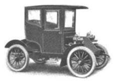 1904. Adams-Farwell Motor Car Brougham
