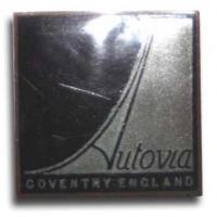 Autovia Sport Saloon by Mulliner (1937 grill emblem)