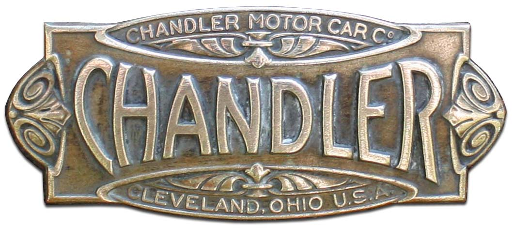 1917. Chandler Model 17 7-Passenger Touring Car (1917 grill emblem)