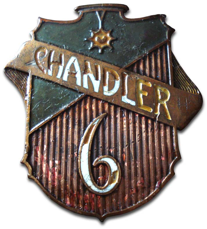 1926. Chandler Royal Six (1926 grill emblem)