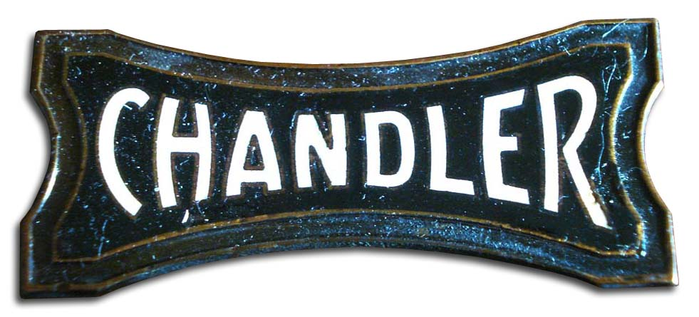 1926. Chandler Straight Six (1926 grill emblem)