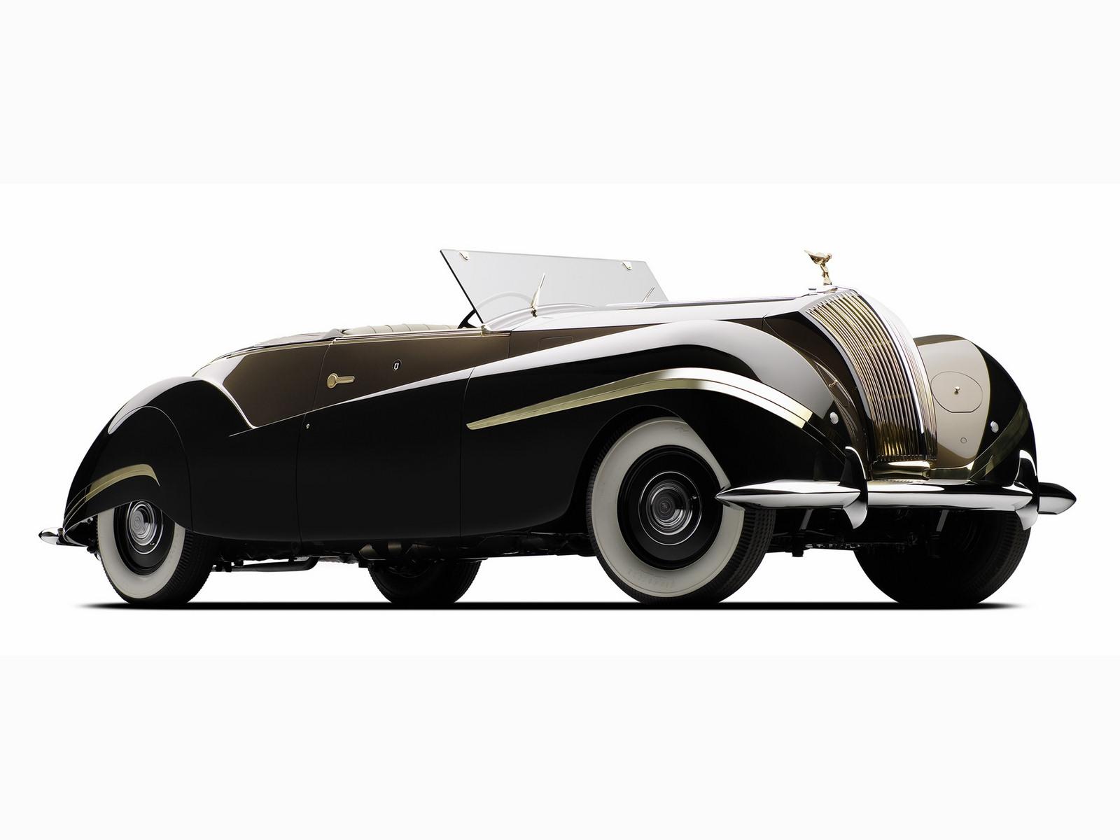 1947. Rolls Royce Phantom III Labourdette Vutotal Cabriolet