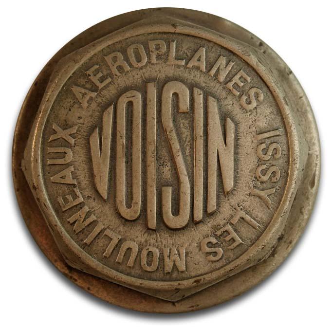 1919. Avions Voisin Type MI (wheel hubcap)