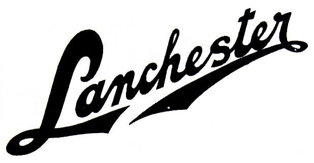 1920. Lanchester Motor Company (Birmingham)
