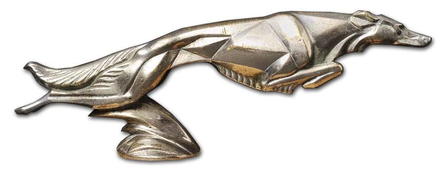 1925-1930. Lorraine-Dietrich (hood ornament)