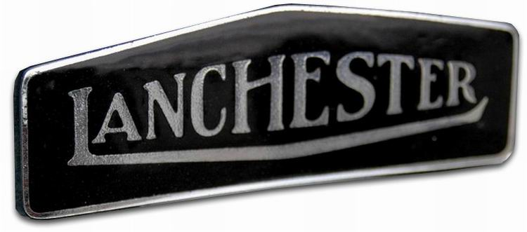 1925. Lanchester Motor Company (grill emblem)